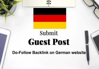 I will publish german guest post on german da 70 plus blog