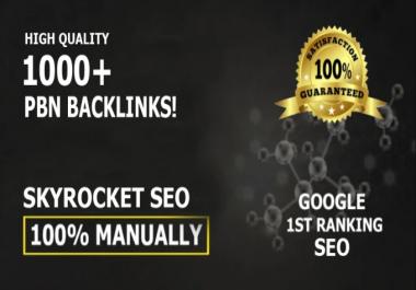 Unique 1000 Sites Da 50+ Pa 40+ PR 5 Web 2.0 Pbn
