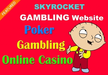 Casino/Poker/judi Sites 100+ High DA 75+ HQ Links to Ranking Your Website and boost your web authori