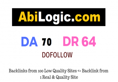 Write And Publish Guest Post On Abilogic.com DA70