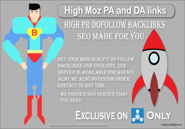 I will build 30 SEO dofollow backlinks (Profile Backlinks) for your site