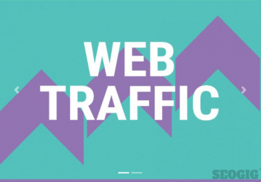 Real web visitors for 30 days with search keywords Digital Marketing / Web Traffic