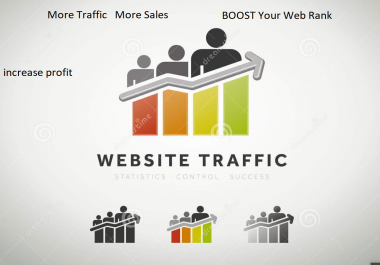 Real 40000 Traffic to your Website and safe Traffic
