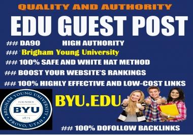 Guest Post on DA90 Brigham Young University, Byu.edu