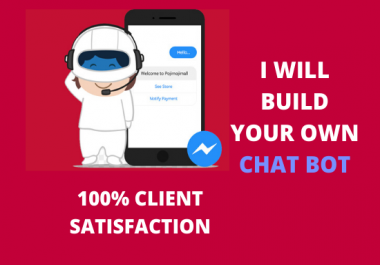 I will create a messenger chatbots in manychat,dialogflow