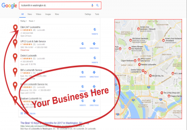 Create 7000 Google MAPS Citations For ranking gmb and business SEO domination [Google Citations]