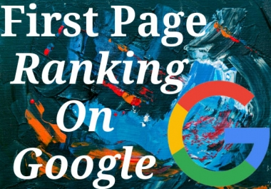I will rank your website 1st page of google.