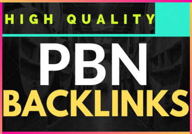 Offer 10 PBN Backlink with High Authority On your homepage with PA DA TF CF Unique website