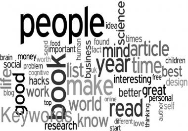 15 seo optimised Keywords that ranks well