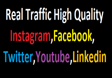 Send +600,000 Website Worldwide Traffic Instagram,Facebook,twitter,YouTube,Tracking Link Online