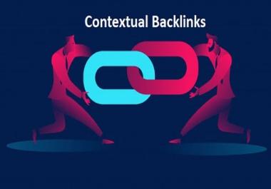 I will build 10,000 quality contextual dofollow backlinks