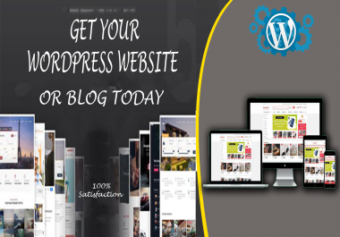I will create a responsive and attractive WordPress website for you