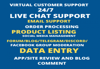 Data entry and groups or blogs or forum management, admin support, research