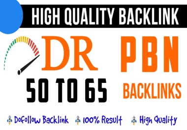 Build 5 Homepage DR 65 Plus High Quality PBN Offpage SEO Backlinks