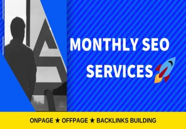 Monthly OffPage SEO Package - Booster For Your Website