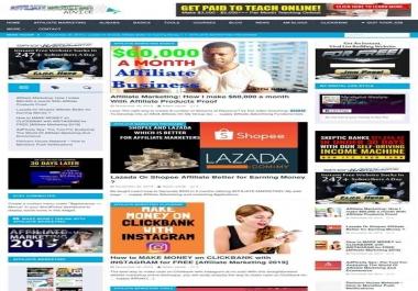 I will install Affiliate/Email marketing, diet, news niche WordPress website in 48 hrs