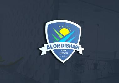 In 3 hours Design modern Badge or Vintage Logo