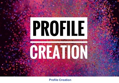 I will do 300 setup social profiles for profile Creation backlinks