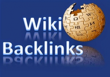 100 Wiki articles Backlinks High Quality