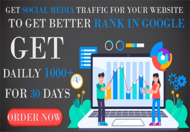 We will Drive Keyword Targeted, Organic/Social UK, USA, Canada Traffic To your Site