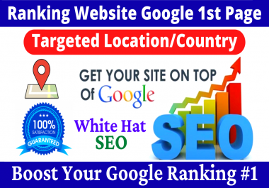 Top Ranking Website Google 1st Page Targeted Location Or Country-Local Seo Citation Business Listing