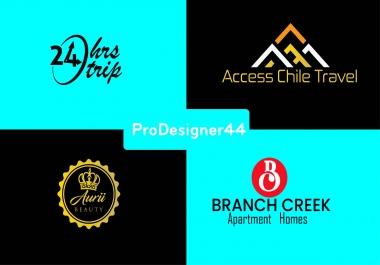 I will do 3 brand logo design for your website