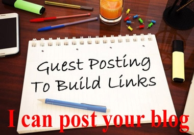 i can post your blog 15 site low cost service