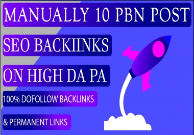10 PBN DOFOLLOW MANUAL BACKLINKS HIGH QUALITY