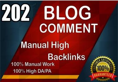 202 blog comment manual high backlinks