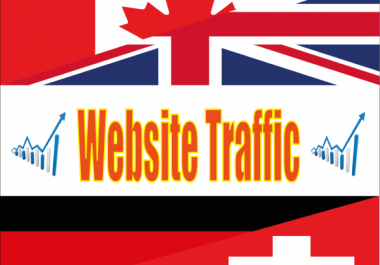 drive 3000 Canada real website high quality targeted visitors