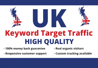 drive 9000 UK real website high quality targeted visitors