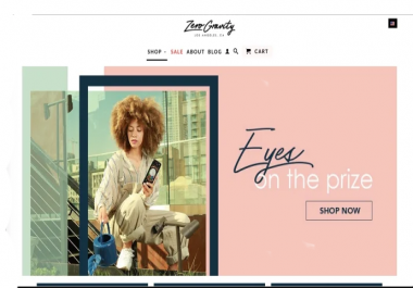 I will customize, design or redesign shopify store, shopify website