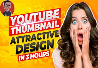 I'll Design an Amazing Youtube Thumbnail in Less Than 3Hours