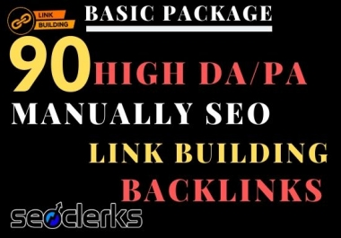 I will make 3 best seo services package in 2020,link building backlinks