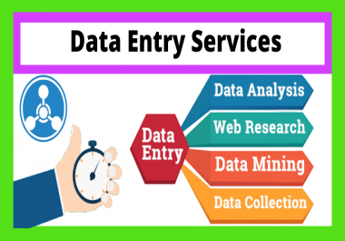 I Will Do Data Entry, Data Mining Copy-Paste from PDF to Excel/Word