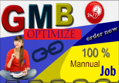 I will optimize your gmb listings 1st page on google for local seo business Ranking
