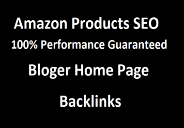 i will create PBN home page blog post 5 Backlinks for your amazon products & your website