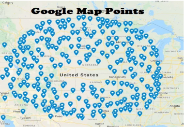 create 500 google maps point citations local seo for local business