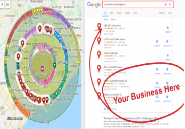 ranking your local business in local areas 3000 google maps point citations local seo