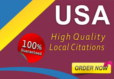 i will do usa 350 local citations for your business directry submitions