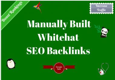 I will build high quality dofollow SEO backlinks link building google top ranking 15 SEO Backlinks
