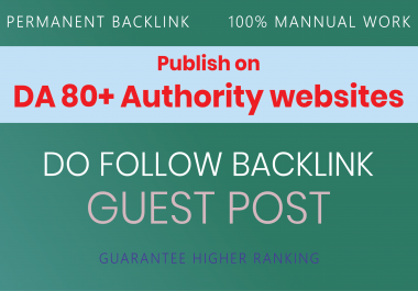 I will create 50 backlinks DA 90 to 70 PA 70 to 50 best sites Manual & Safe SEO