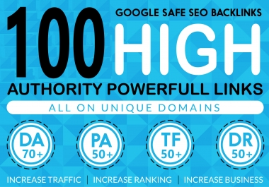 100 High Authority Powerfull Homepage web2.0 Backlink Permanent & Dofollow With unique website