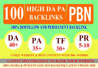 LIMITED OFFER DA40+ PA35+ PR9+ 100 Homepage web2.0 Backlink Permanent & Dofollow With unique website