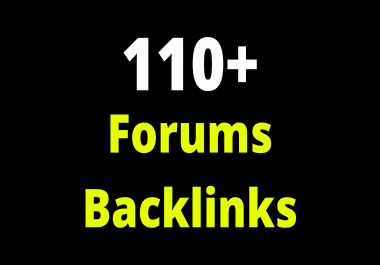Forums Profile SEO 110 Backlinks Google Ranking Shoot Out