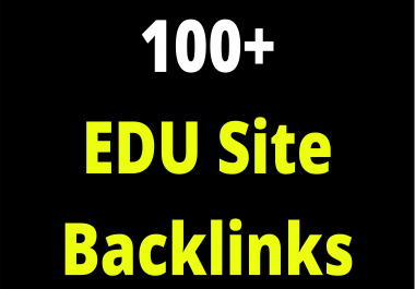 EDU Sites SEO Backlinks 100+ Links To Your Site Shoot Out On Google