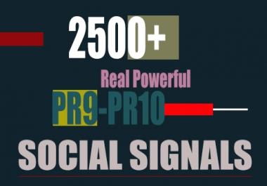 Create 1500 Powerful Social Signals