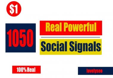 Real Google+ share, Weblike share, Pinterest, Reddit Top SEO Social Signals