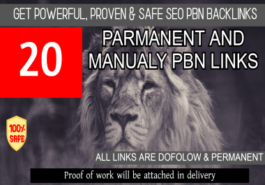 Powerful 20 Backlinks with Extremly High DA PA TF GET IT NOW!!