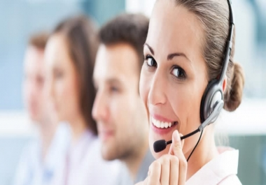 I will be your reliable Customer service support
